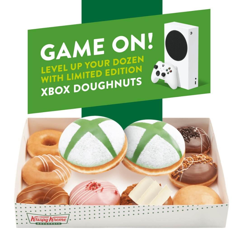 KrispyKreme Xbox krofne