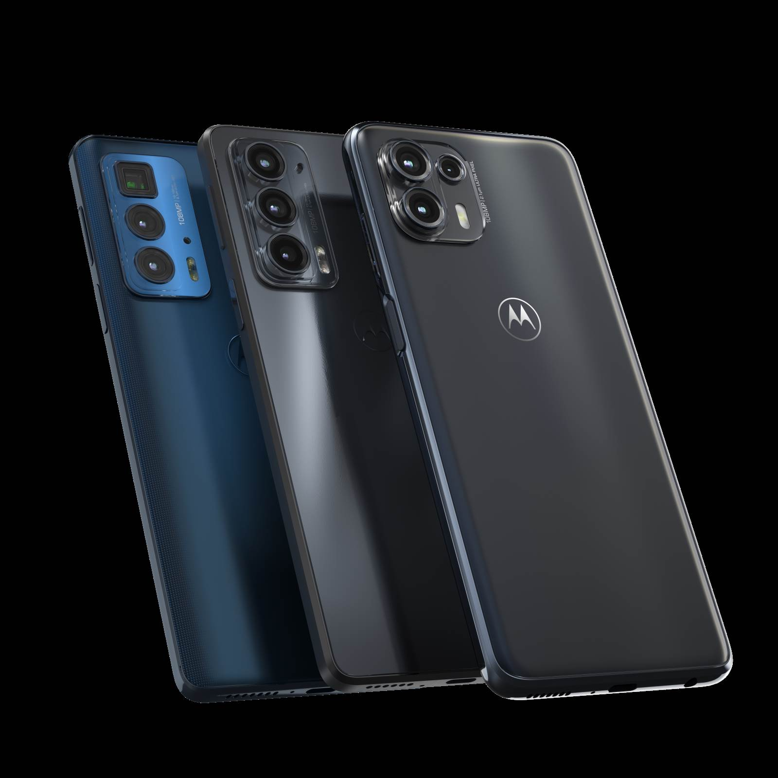 Motorola edge 20 lite, edge 20 i edge 20 pro
