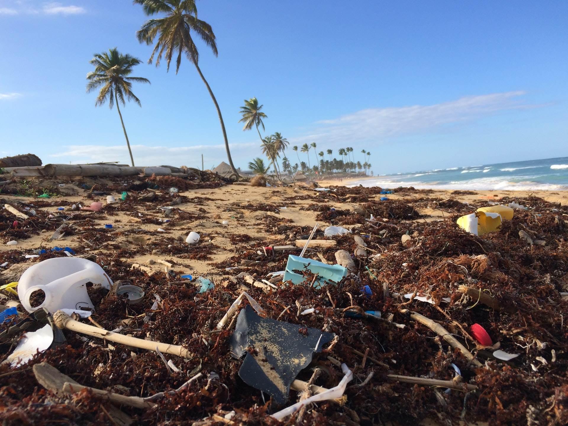 Zagađena plaža