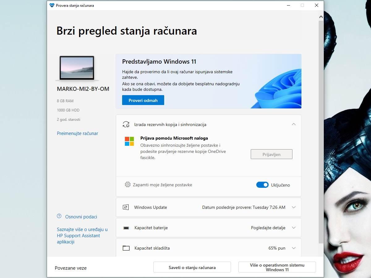 PC Health Check Aplikacija kako radi za Windows 11 1