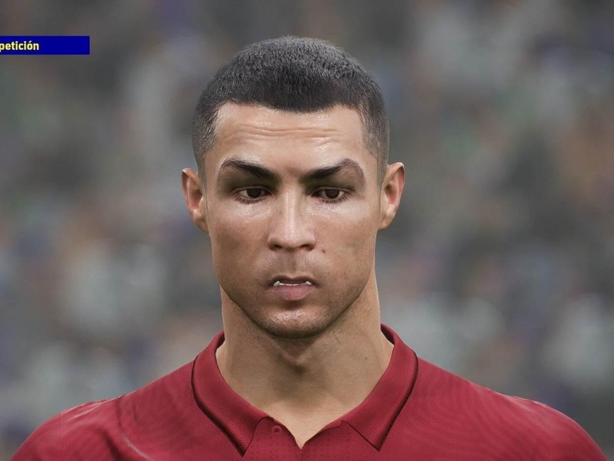 eFootball 2022 Ronaldo kako izgleda