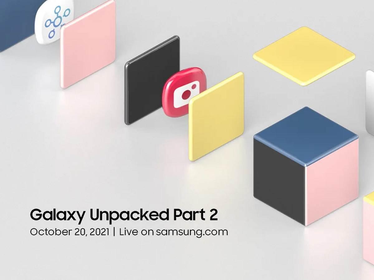 Samsung Galaxy Unpacked Part 2 20. oktobar premijera