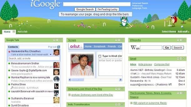 iGoogle dozvoljava (još uvek) da sami odaberete sadržaj i rasporedite ga na svom početnom ekranu.