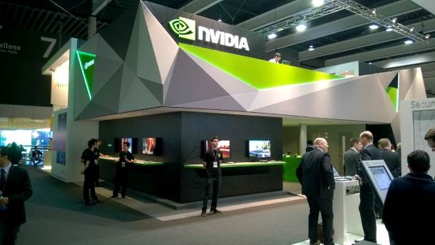 nVidia na MWC 2014 sajmu.
