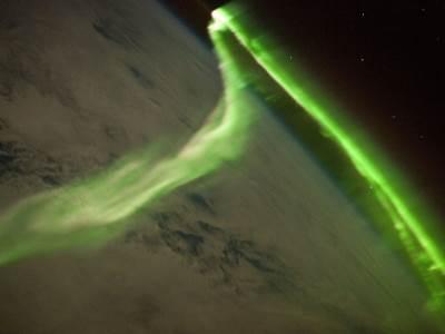 Aurora Australis sa Međunarodne svemirske stanice