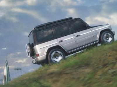 Mercedes-Benz Concept EQG G-Wagen SUV električni automobil 4-1