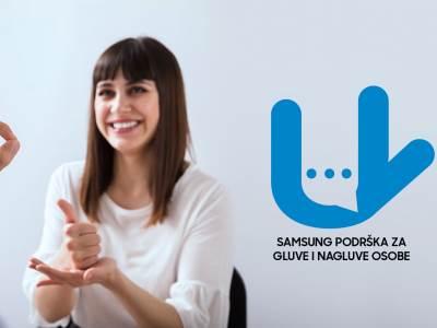 Samsung podrška za gluve i nagluve osobe